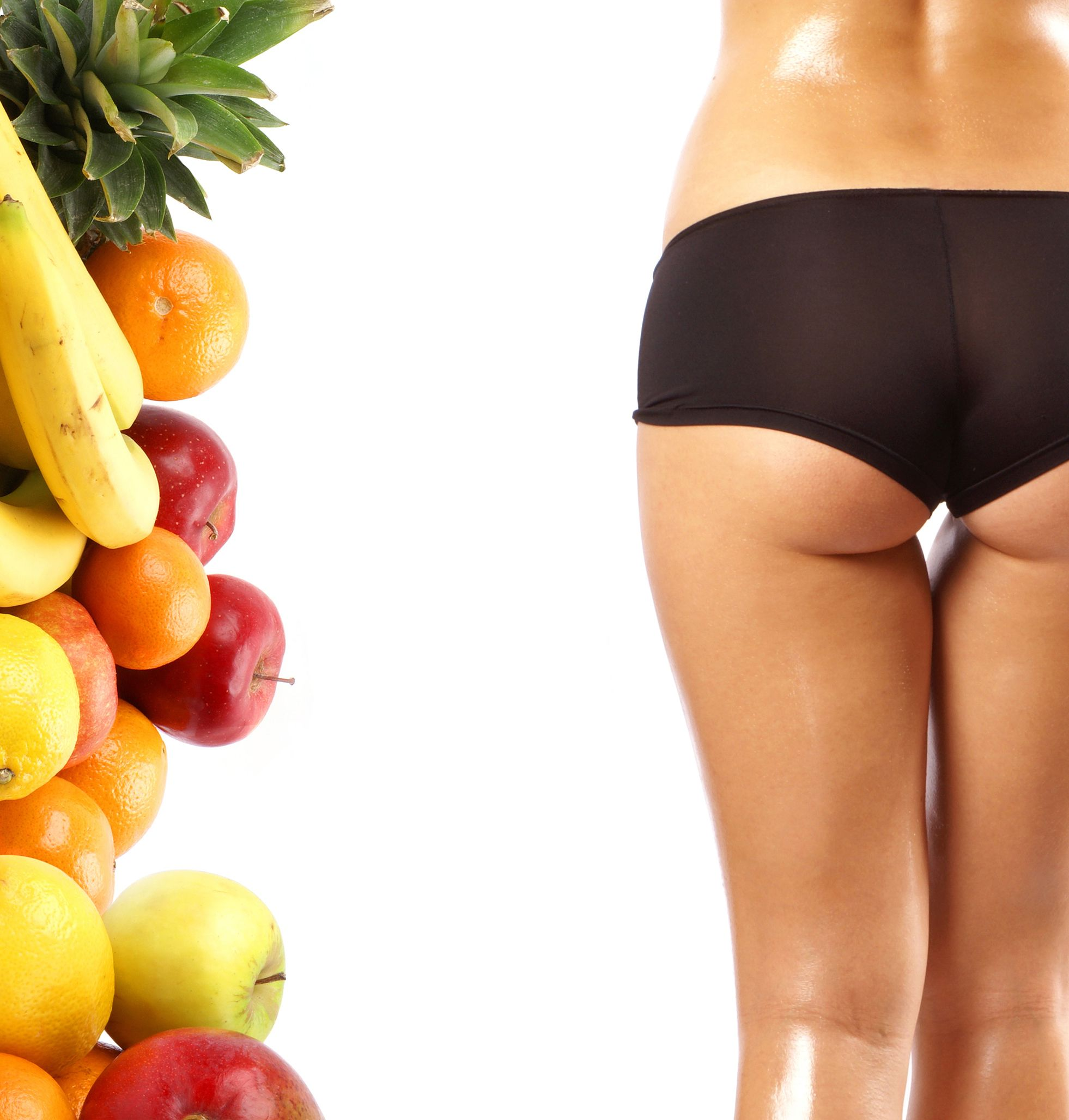 Fiber from fruits and vegetables helps us to lose weight and keep fit